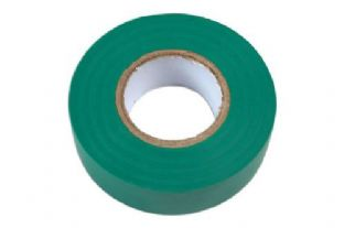 Connect 30377 Green PVC Insulation Tape 19mm x 20m Pk 10